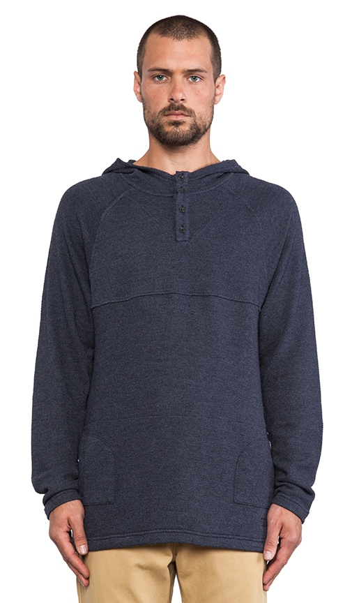 Jerry Hooded Henley