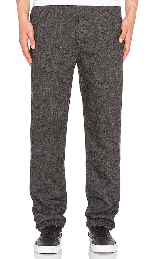 ourCASTE Joshua Pant in Charcoal