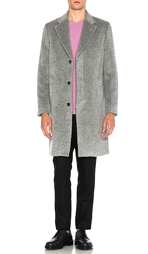 Our Legacy Unconstructed Classic Wool Coat in Gray