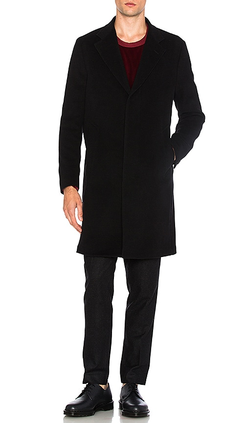 Our Legacy Unconstructed Classic Wool Coat in Black