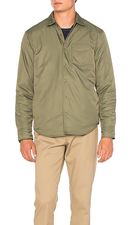 OUTERKNOWN Evolution Reversible Jacket in Olive