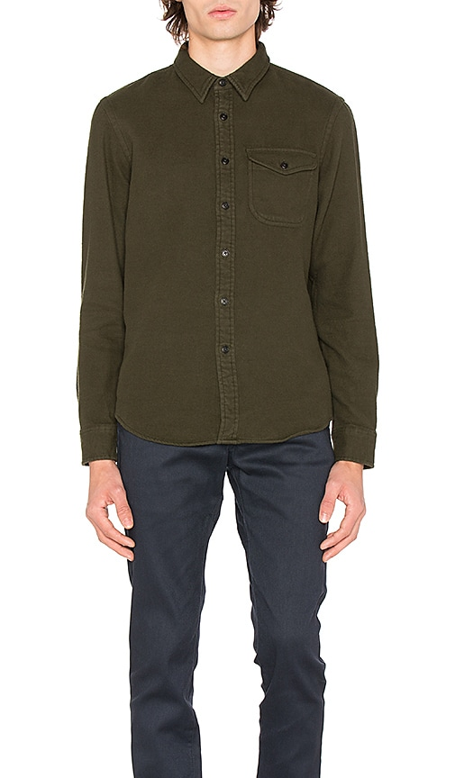 OUTERKNOWN Fogbank Shirt in Green