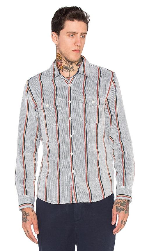 OUTERKNOWN Blanket Shirt in Serape Stripe