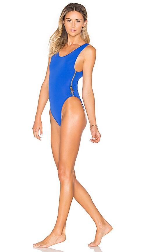 OYE Swimwear Zissou One Piece in Blue