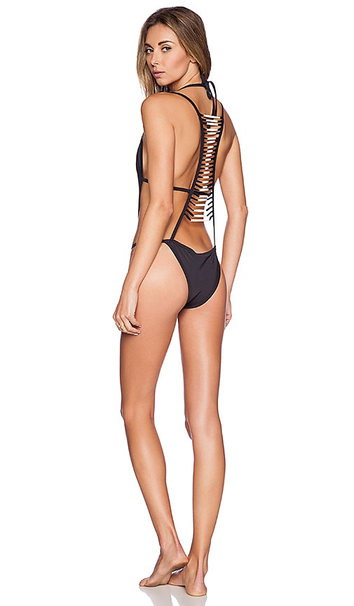 Black Bone Swimsuit