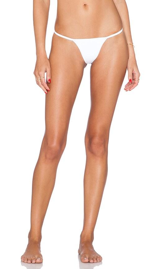 Pacific & Driftwood Rise & Shine Bikini Bottom in White