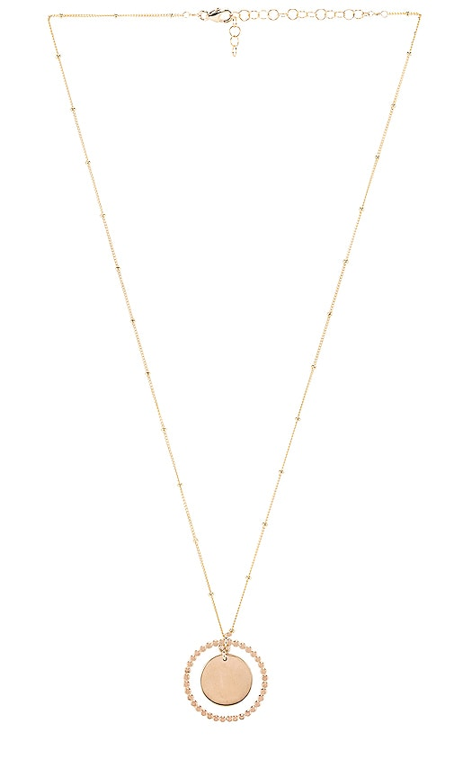 Stars Align Coin Pendant Necklace