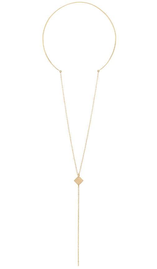 Paradigm Aurora Necklace in Metallic Gold