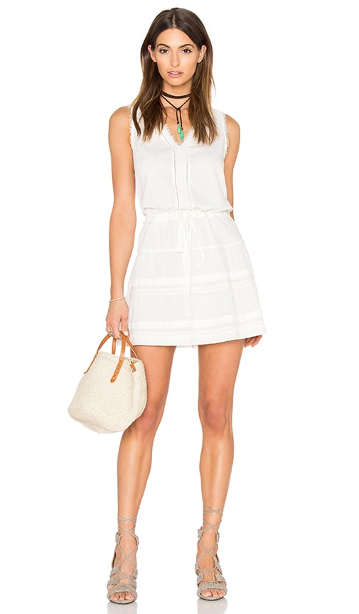 Paige Denim July Dress in White