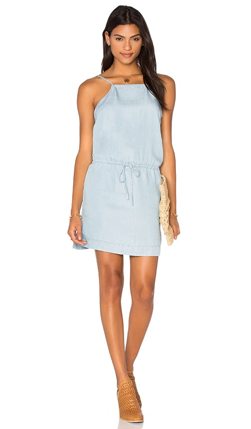 Paige Denim Anjelica Dress in Blue