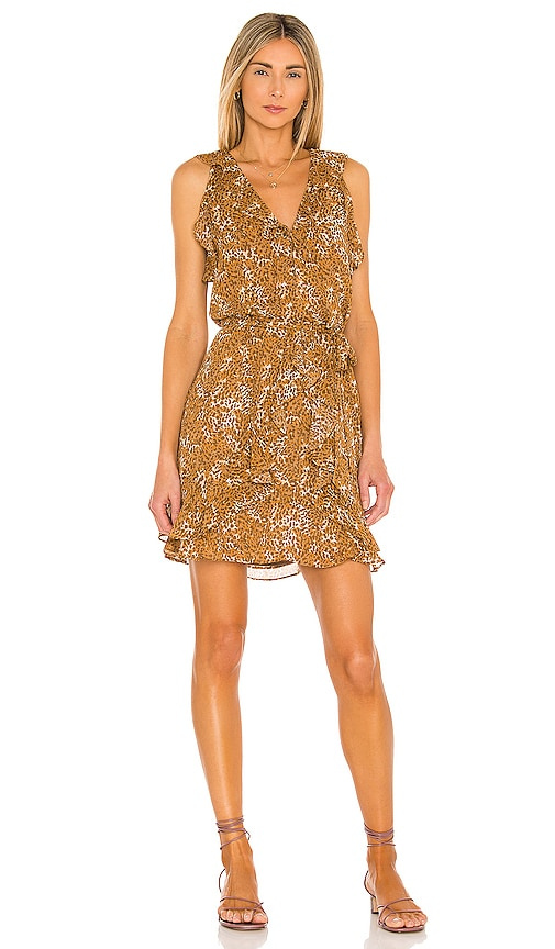 Paige Tia Dress In Caramel Spice Multi