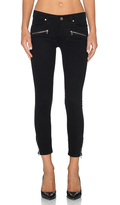 Jane Zip Crop Skinny