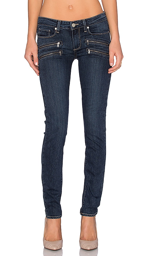 Paige Denim Edgemont Ultra Skinny in Amaris No Whiskers