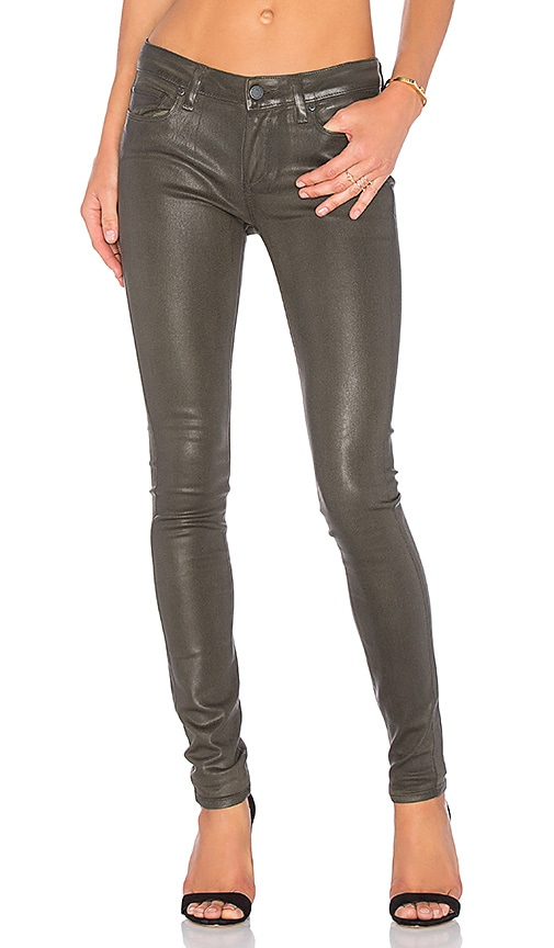 PAIGE Verdugo Ultra Skinny in Army Luxe Coating
