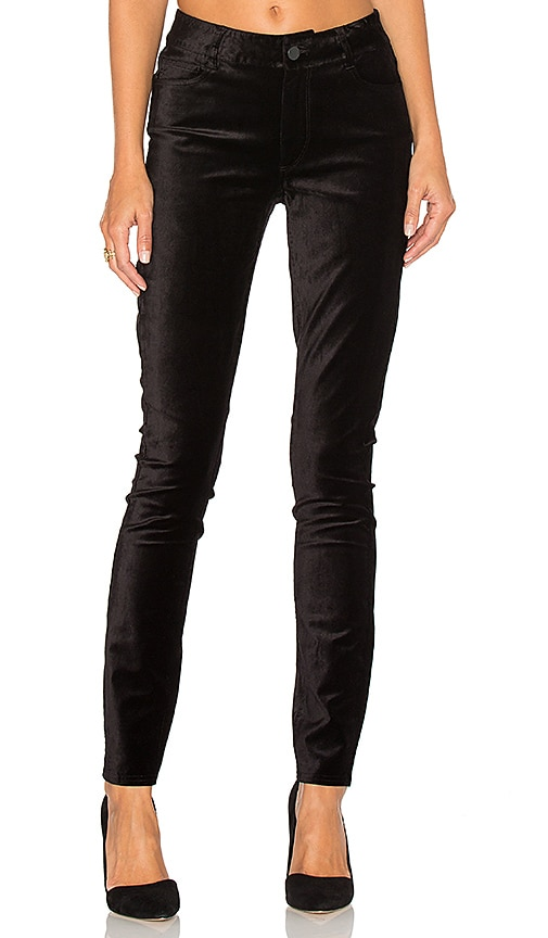 Paige Denim Verdugo Skinny in Black Overdye