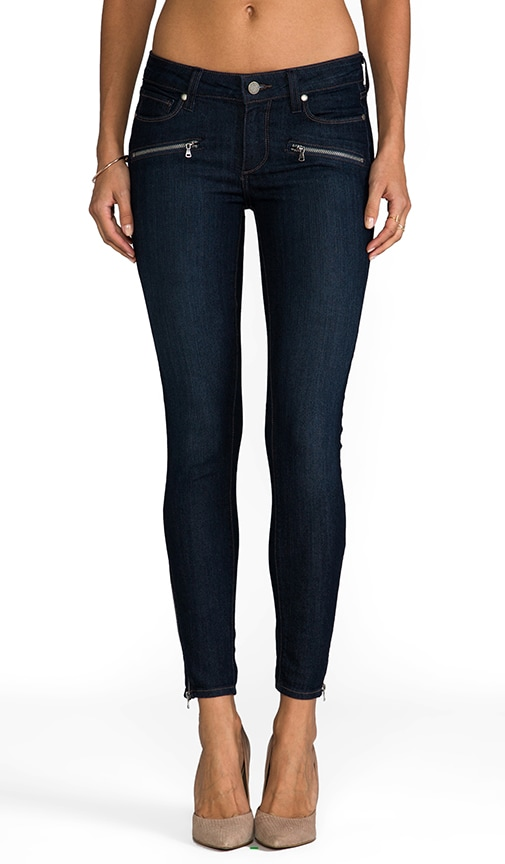 Denim Jane Zip Ultra Skinny