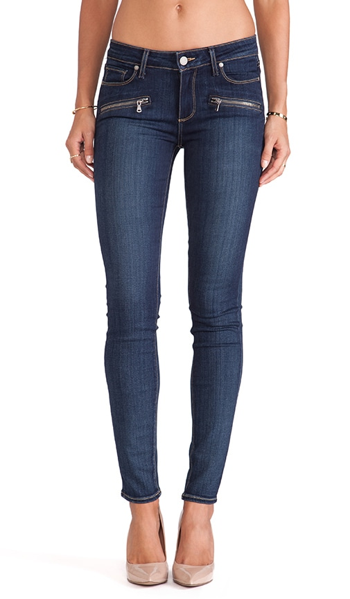 Denim Indio Zip Skinny