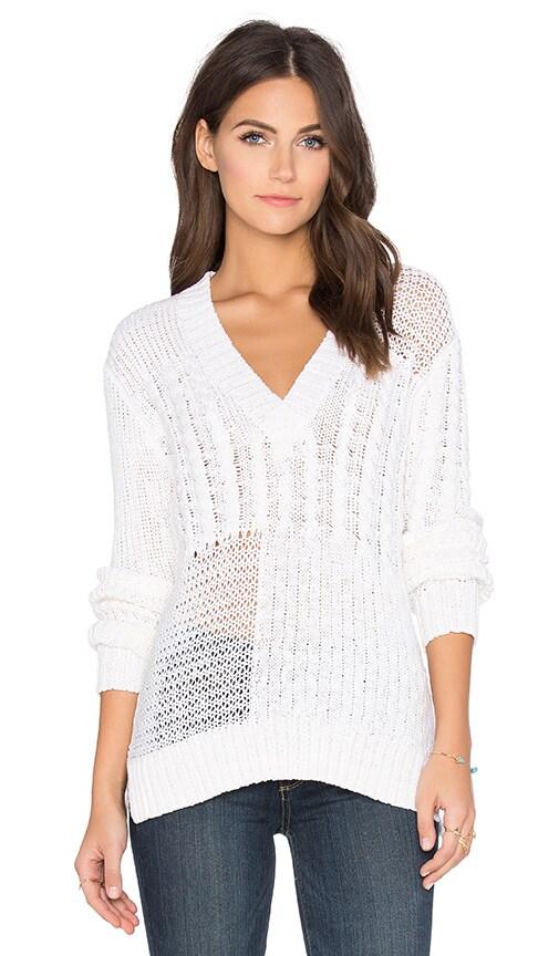 Paige Denim Brielle Sweater in White