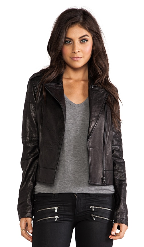Sacha Leather Jacket