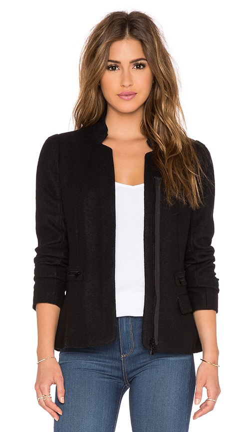 Paige Denim Pippa Blazer in Black
