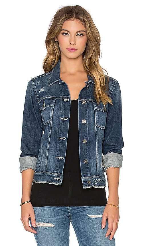 Paige Denim Rowan Jacket in Williams Destructed