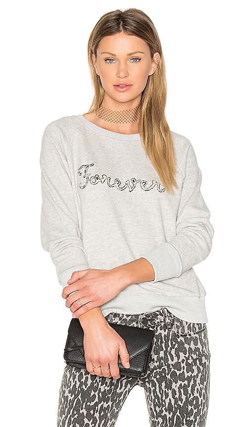 PAIGE Rosie HW x PAIGE Forever Sweatshirt in Gray