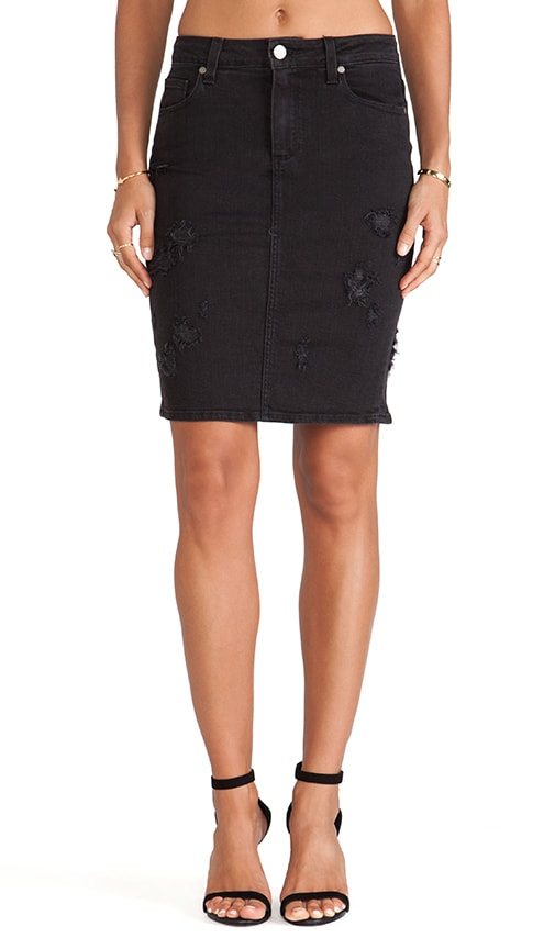 b168176996 PAIGE Deirdre Skirt in Ramone Destrusted | REVOLVE