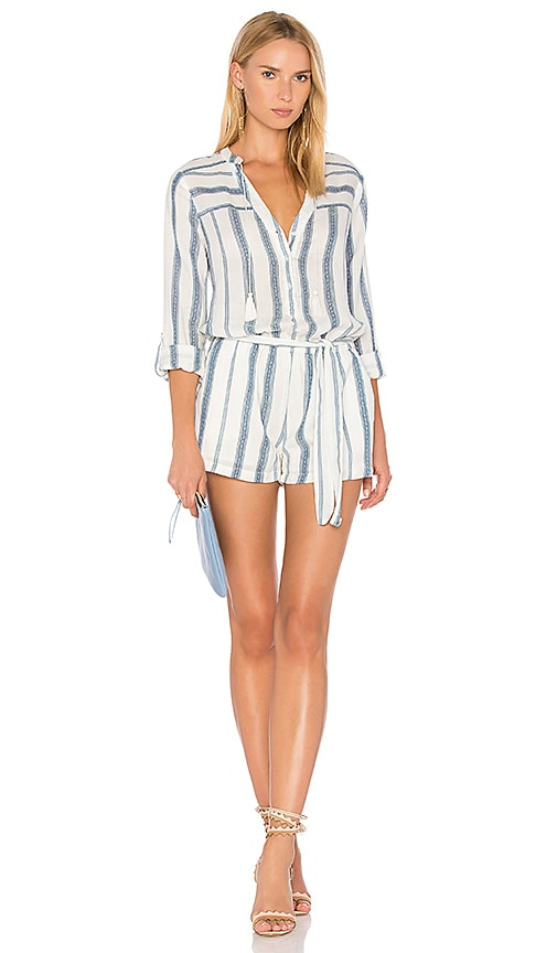 PAIGE Raleigh Romper in Blue