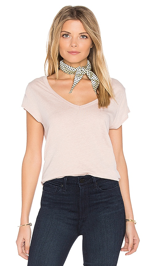 PAIGE Nicoletta Tee in Blush