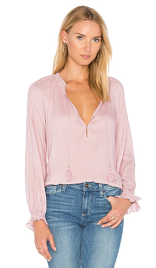 PAIGE Jordana Blouse in Pink
