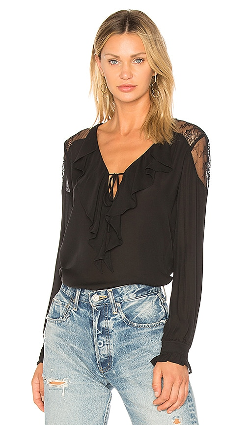 PAIGE Celesse Blouse in Black