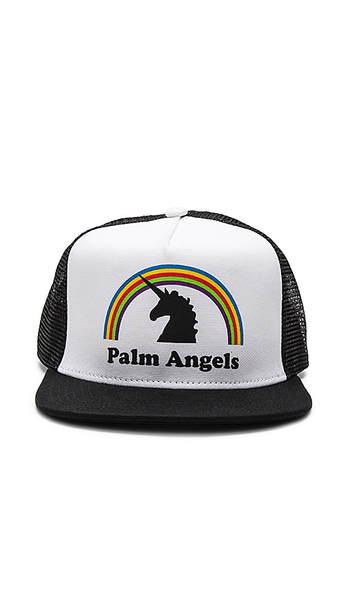 Palm Angels Unicorns Do Exist Cap in White