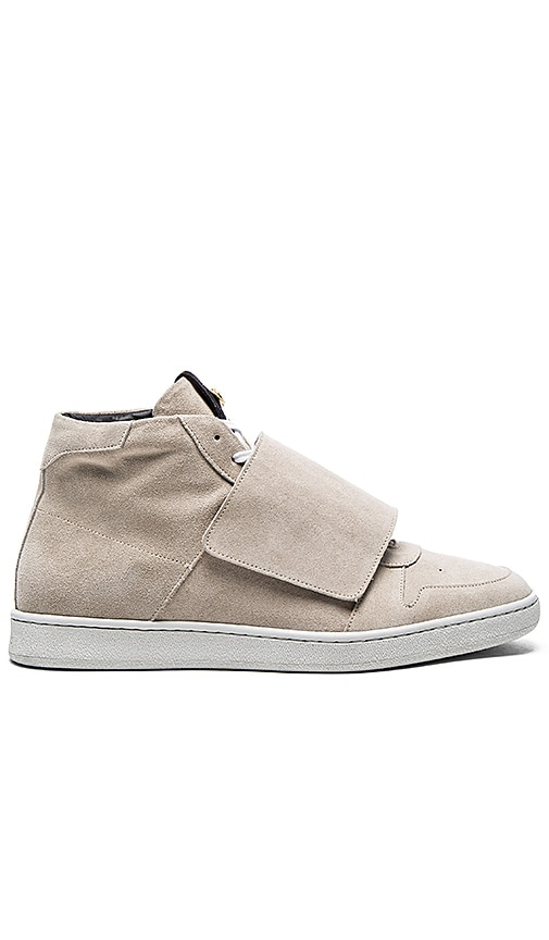 Suede Basket Mid Sneakers