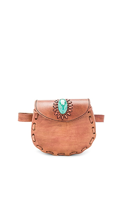 Darlene Fannypack With Turquoise