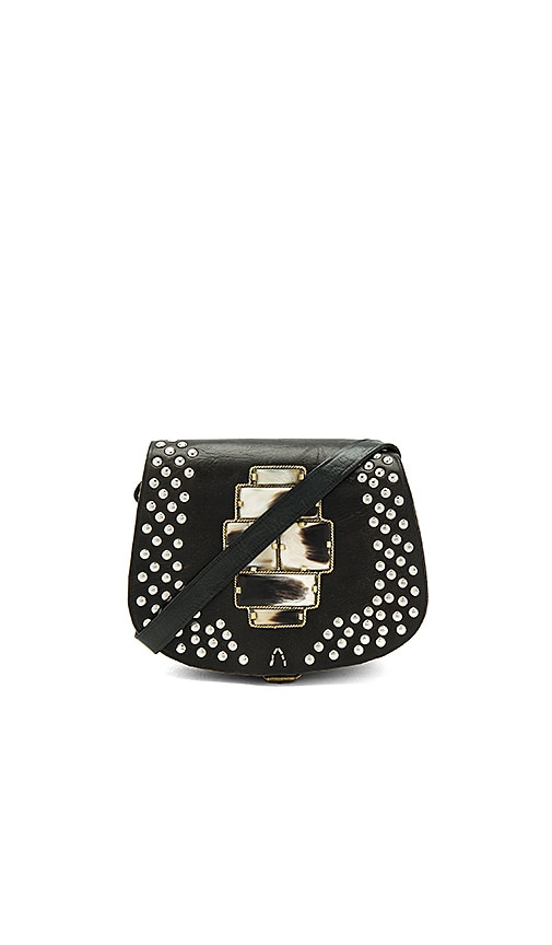 Pamela V. Festival Crossbody in Black