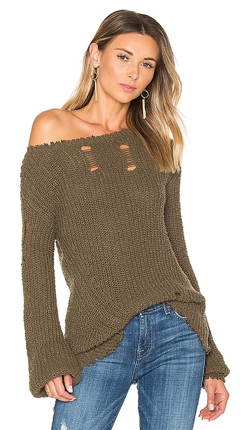 5b8d8a3820 Shredded Wavy Sweep Sweater. Shredded Wavy Sweep Sweater. Pam   Gela