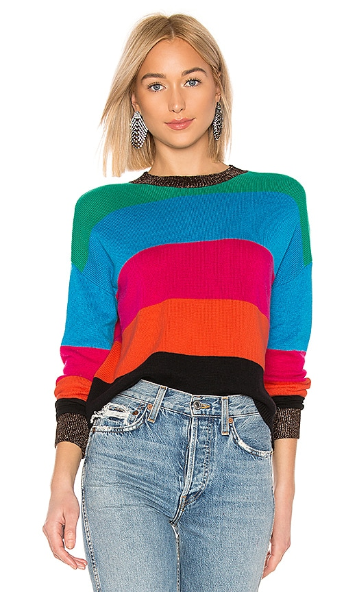 Crop Striped Sweater