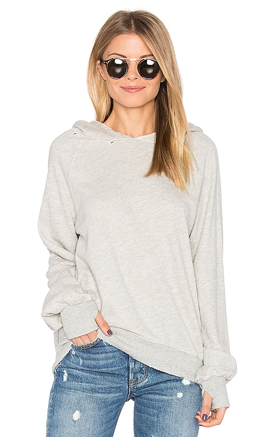 Pam & Gela Hollywood Hobo Hoodie in Gray