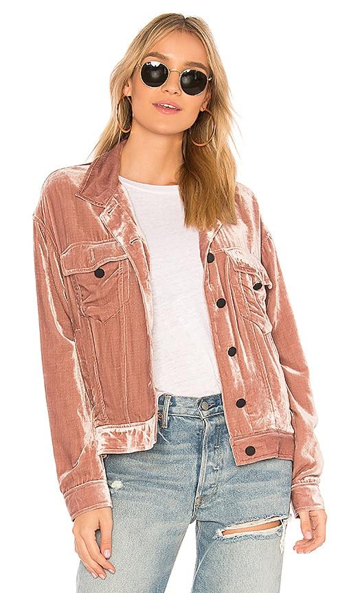 Pam & Gela Jean Jacket in Pink