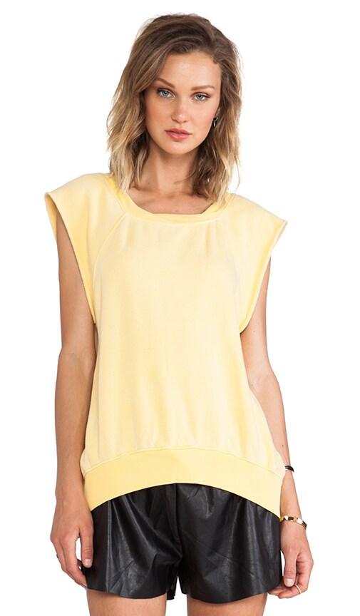 Hi-Lo Short Sleeve Sweatshirt