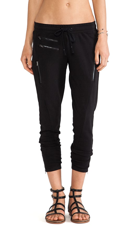 Sweatpant with Zips