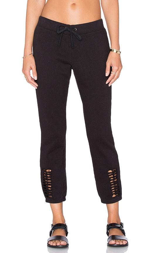 Pam & Gela Cutout Pant in Black