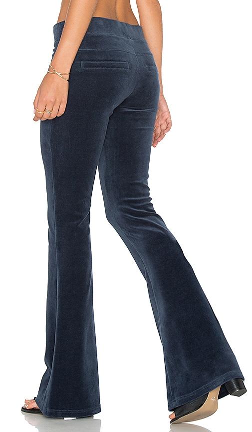 Pam & Gela Flare Leg Pant in Teal