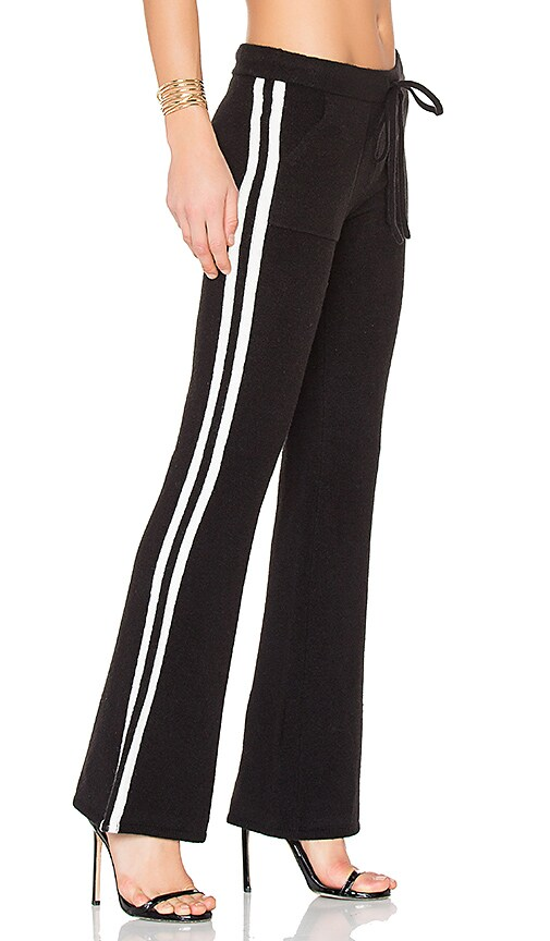 Pam & Gela Sweatpant in Black & White