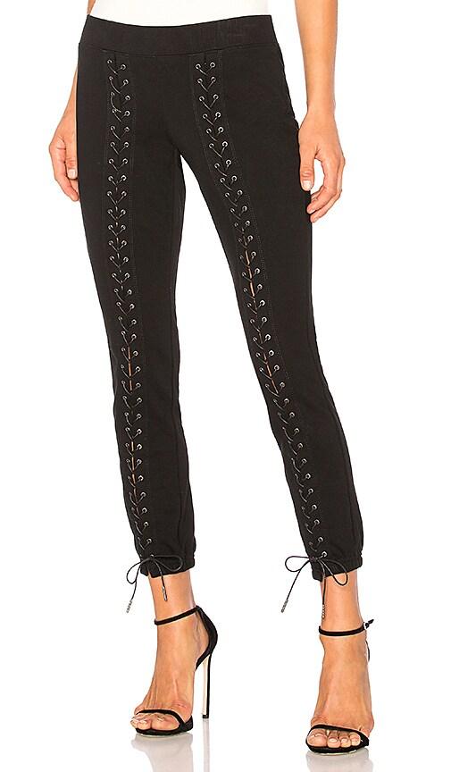 Pam & Gela Laced Sweatpant in Black