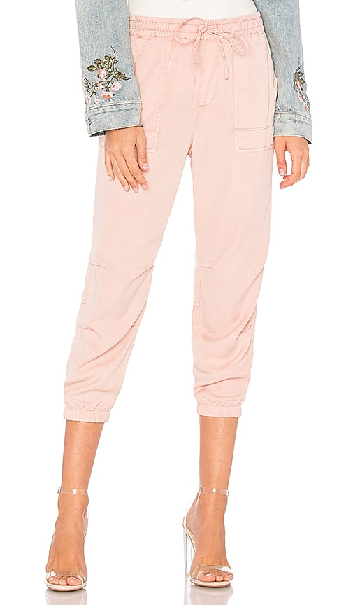 Pam & Gela Cotton Candy Pant in Pink