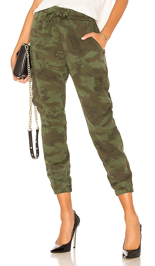 Bronze Side Stripe Camo Pant