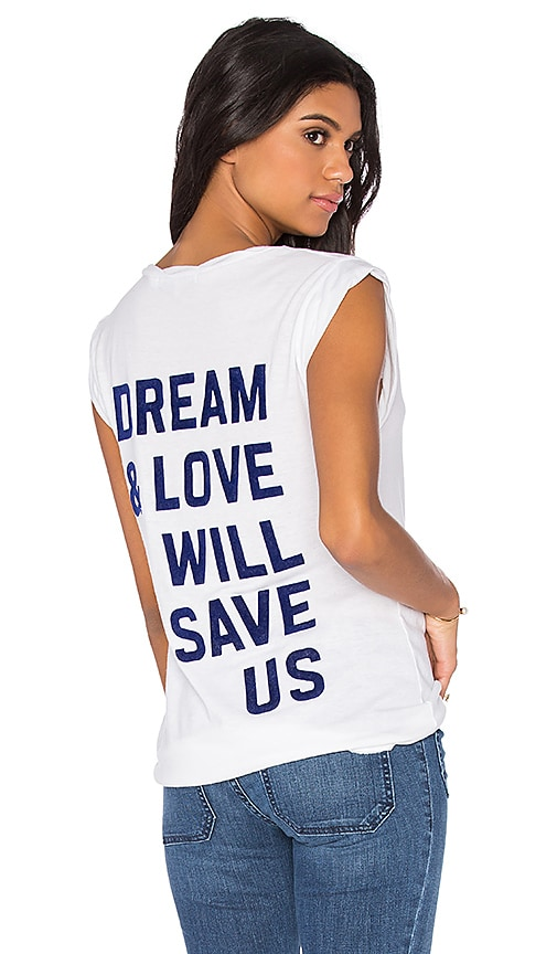 Pam & Gela Dream Kate Tee in White