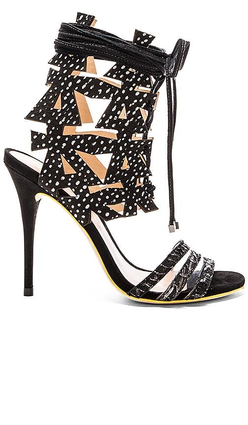 PAOLA FABRIS Psiche Heel in Black