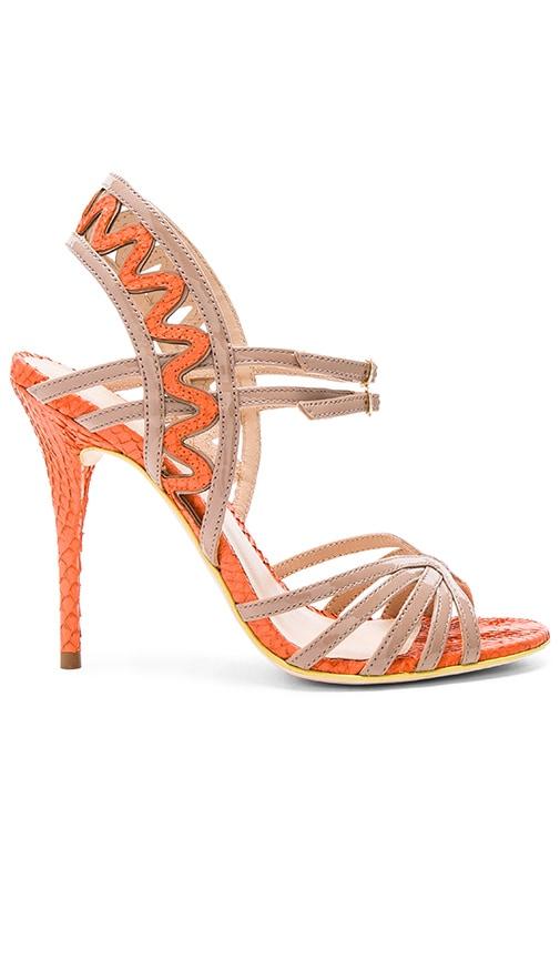 PAOLA FABRIS Brisa Heel in Orange